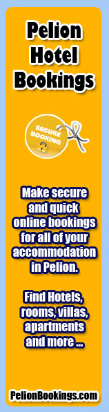 Online Hotel Bookings for Pelion Greece